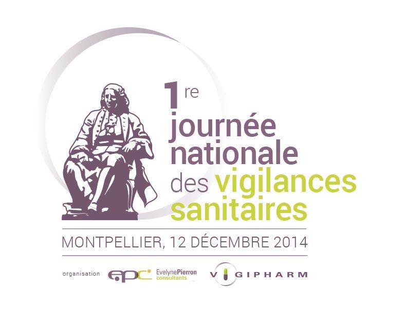 Logo 1re journée nationale des vigilances sanitaires