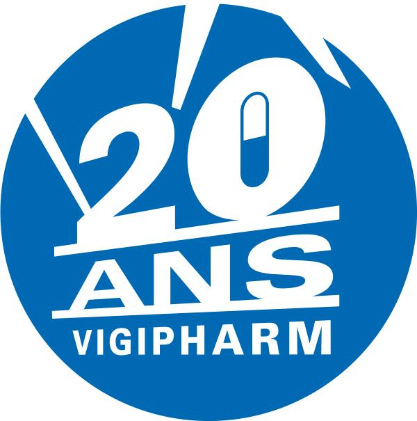 Logo 20 ans Vigipharm