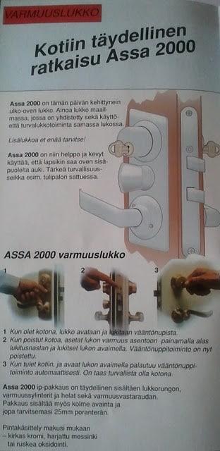 Assa_2000_kayttoohje.