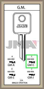 GM C lisäavain koodilla