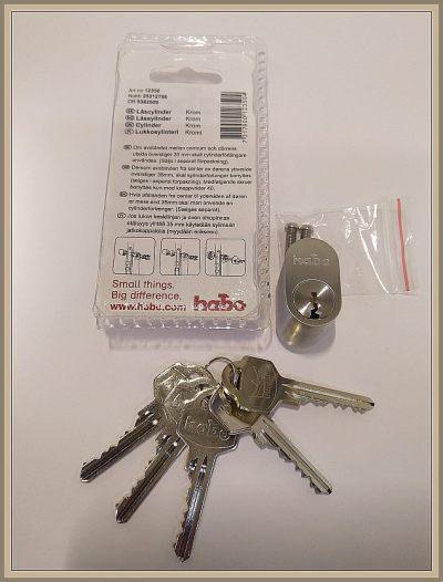 Habo Hcn avainpesä täydellinen Assa tyyppisiin lukkoihin paketinohje