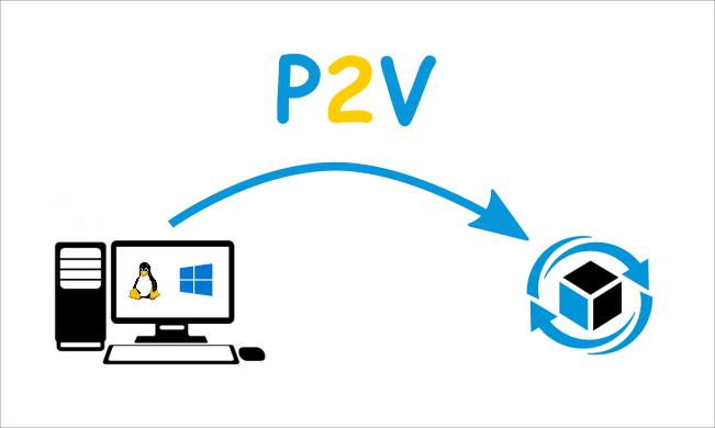 Cara Mengubah Komputer atau Server Fisik menjadi Virtual (P2V)