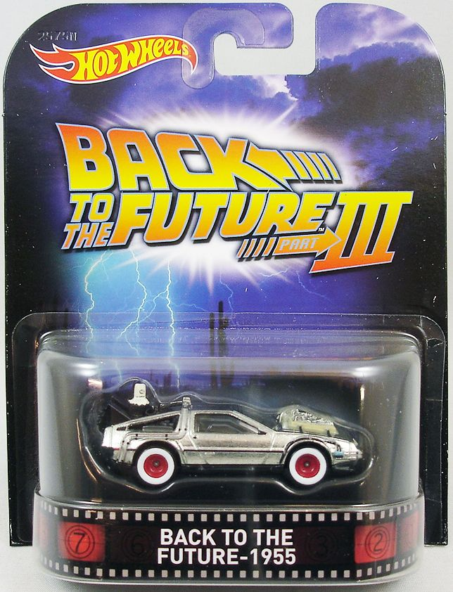 Retour Vers Le Futur PartIII Hot Wheels Mattel