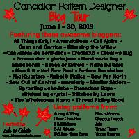 Canadian Pattern Designer Blog Tour at Lulu & Celeste