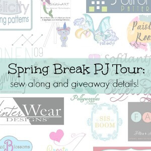 Spring Break pj tour prize details