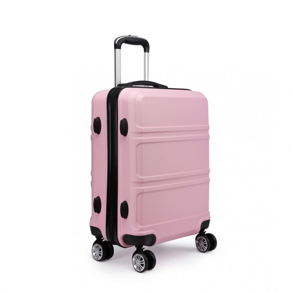 K1871L-Hard Shell Cabin ABS Suitcase 3 Pieces Set with ...