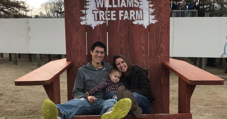 Christmas Tree Hunting and a Sunday Date Day