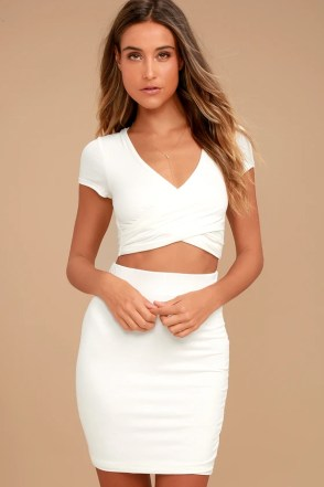 I love cute two piece outfits like this!