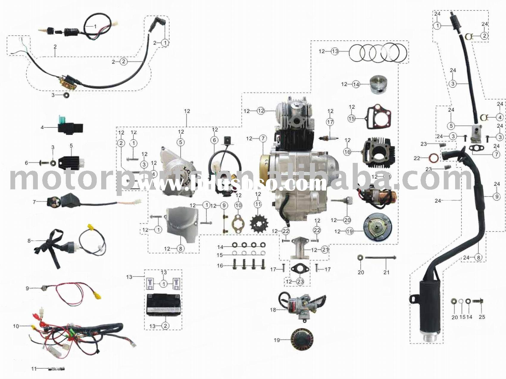 110cc Engine Wiring Diagram