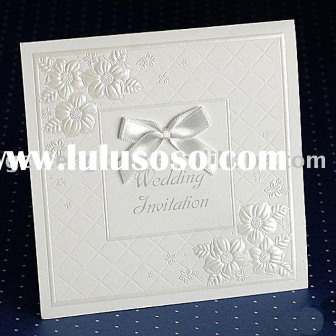 Embossed Invitation Cards – Embossed Invitation Cards