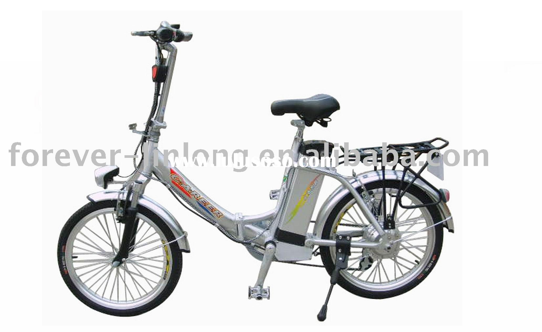 Folding Lithium Electric Bicycle Folding Lithium Electric