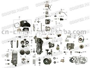 Moped Engine Schematics | Wiring Library