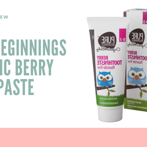 Review: Pure Beginnings Berry Toothpaste