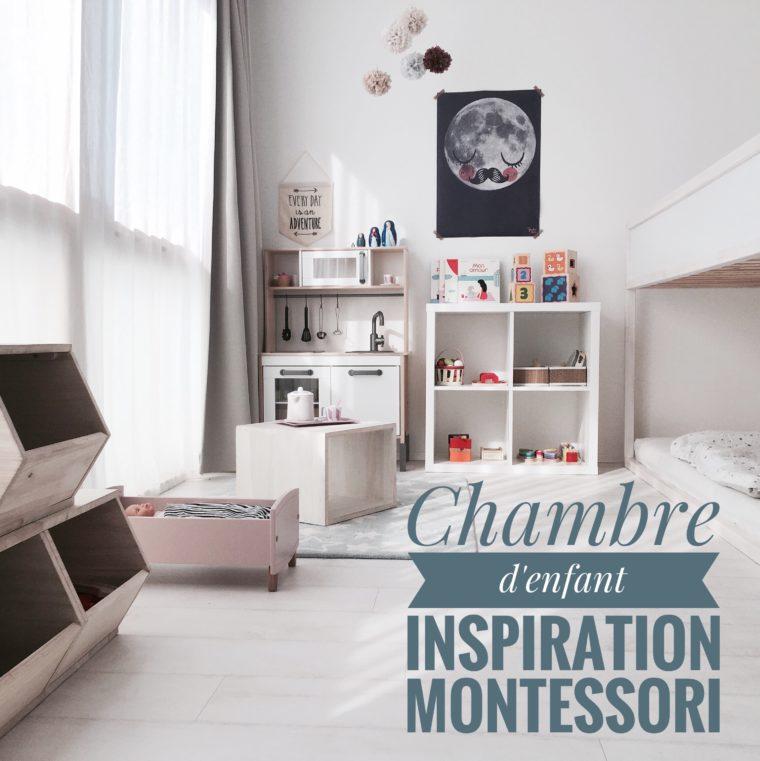 chambre d 39 enfant inspiration montessori lumai blog. Black Bedroom Furniture Sets. Home Design Ideas
