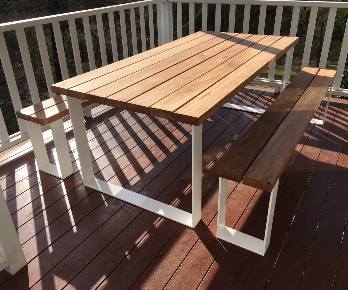 Handmade Dining Table And Chairs