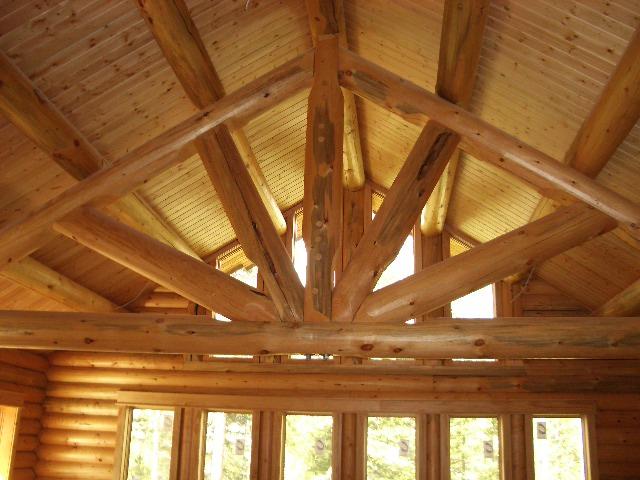 Log Trusses Lumberjack Homes