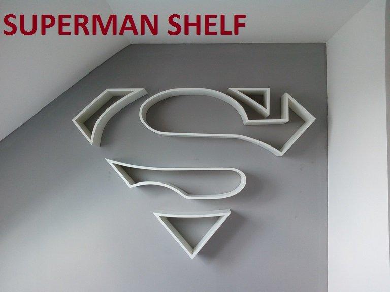 Superman Shelf By Jimkrum Woodworking Community
