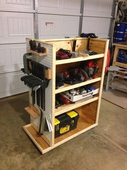 Roller Garage Cart By Rusty Woodworking Community