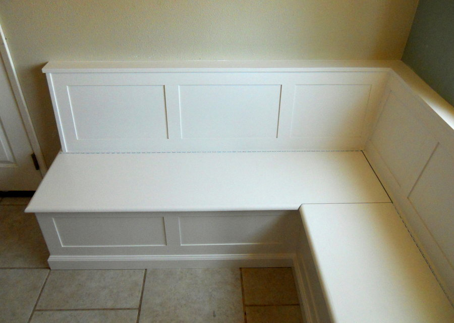 Built In Dining Room Benches With Storage By