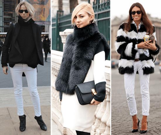 lack si White- cum sa porti neutrele trendy ale acestui sezon.