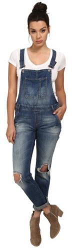 Blugi Mavi Jeans Edera Denim Overall in Dark R-Vintage Femei