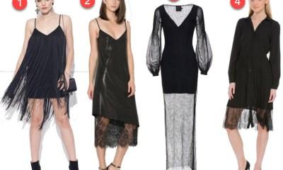 Cele mai frumoase rochii negre elegante vandute online