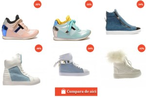 Adidasi dama ieftini 2017 modele cu talpa de spuma, talpa groasa, talpa cu paltforma