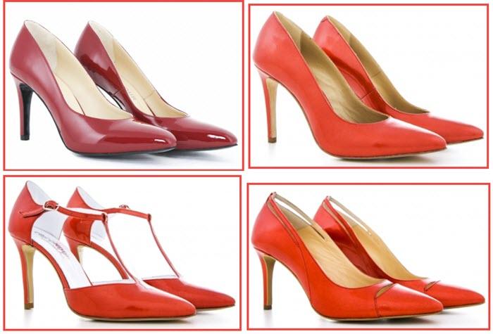 pantofi rosii Condur by Alexandru
