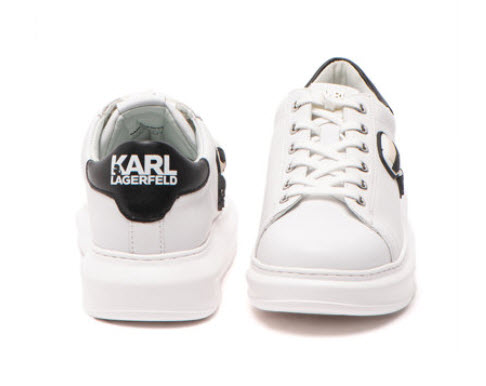 Pantofi sport femei flatform de piele Kapri Karl Lagerfeld