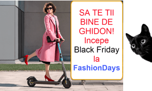 fashion days promotii black friday 2019