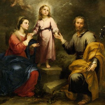 Murillo - Earthly & Heavenly Trinities