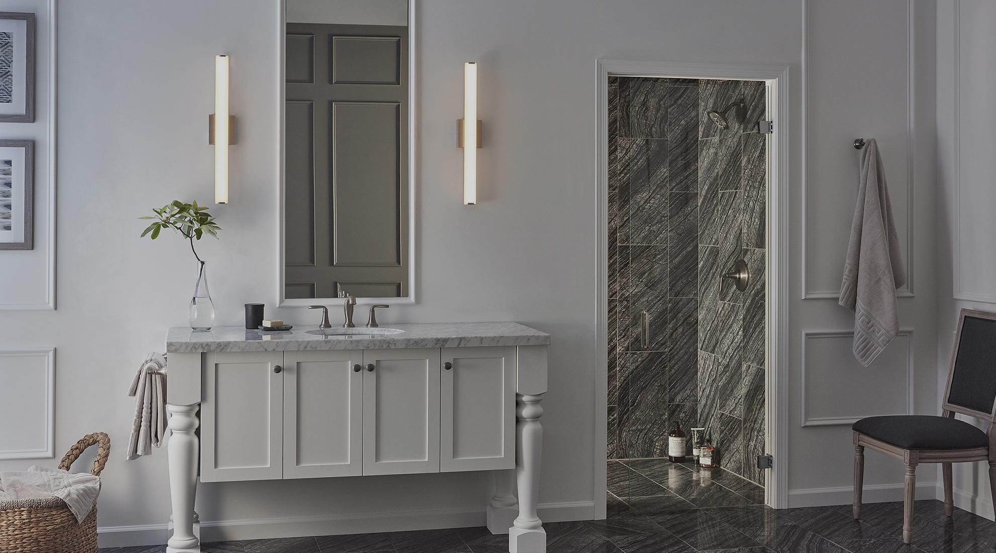 Bathroom Lighting Ideas 3 Tips For The Best Bath Lighting At Lumens Com