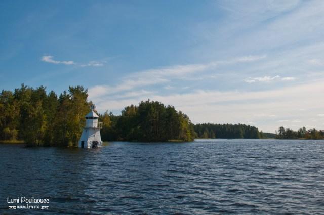 Lac Saimaa - Finlande - fard paysages finlandais naviguer