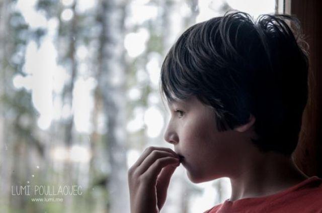 Tomi, Mon neveu autiste - enfant autiste -Photographie - reportage - inquetude