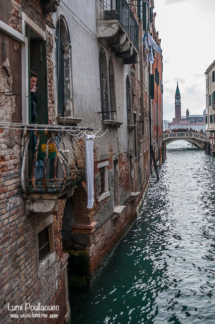 Venise - Italie - carnaval déguisement ruelles voyage canal