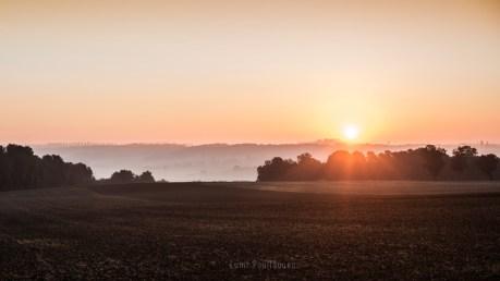 lever de soleil seine et marne champs