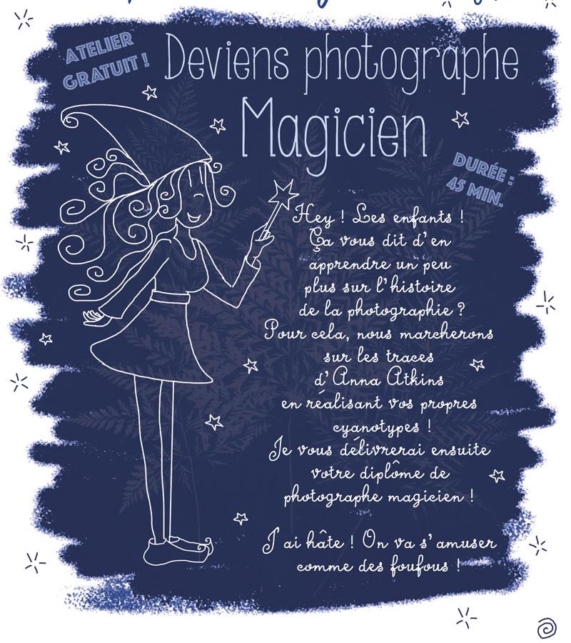 Des ateliers pour enfants au Salon de la photo !
