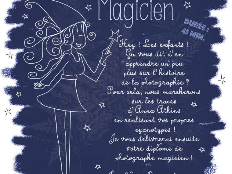 Ateliers pour enfants au salon de la photo