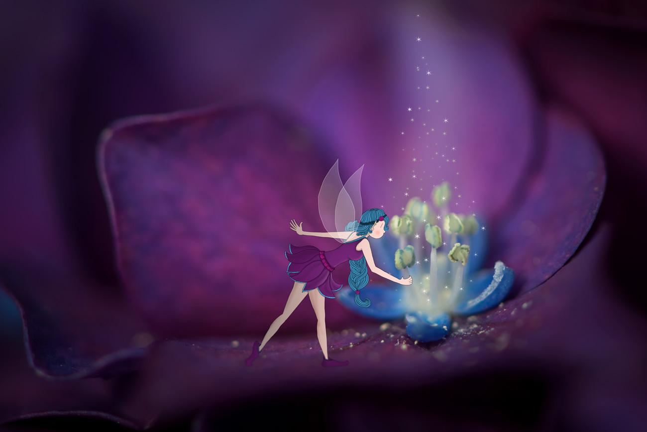 fée des fleurs - Lumi Poullaouec - Création - Photographie et illustration féérique