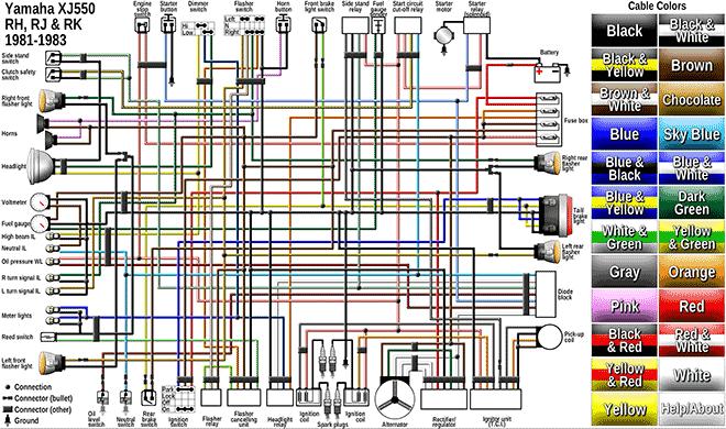 wiring diagram 1983 yamaha it  wiring diagram operation hup
