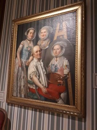 Autoportrait ou Le peintre et sa famille