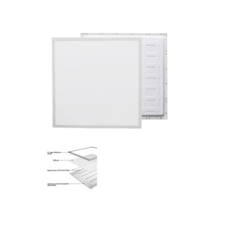 Dalle carre LED QH encastrable 48W 59,5cm*59,5cm Lumiere Blanche (6500k)