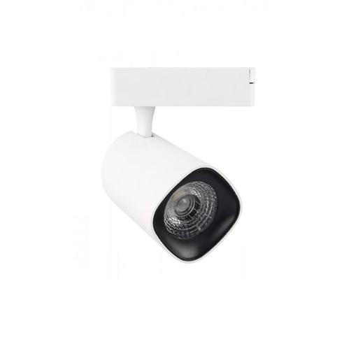 Projecteur LED Sur Rail Blanc 30W Lumière Naturelle (4000k)