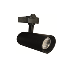 Projecteur LED Sur Rail Noir 10W Lumière Naturelle (4000k)