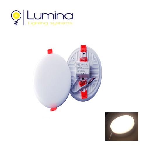 Spot LED Encastrable 3DRéglable – 10W Rond sans cadre- lumière naturelle (4000K)
