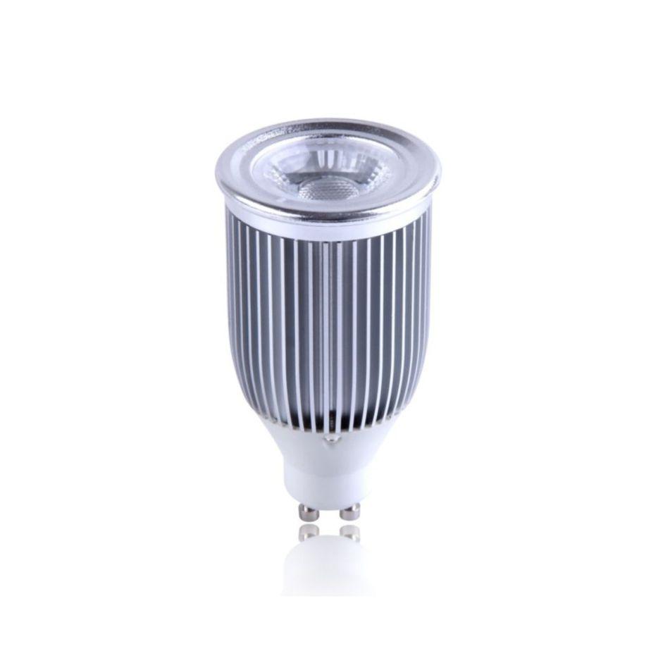 Ampoule Au DEL GU10-8W1LED-NW-38°