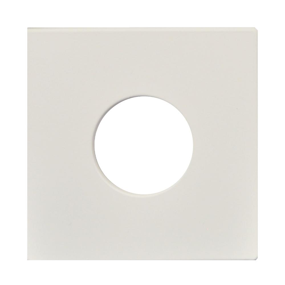 Finition Plate Standard 4″ Blanche 65438
