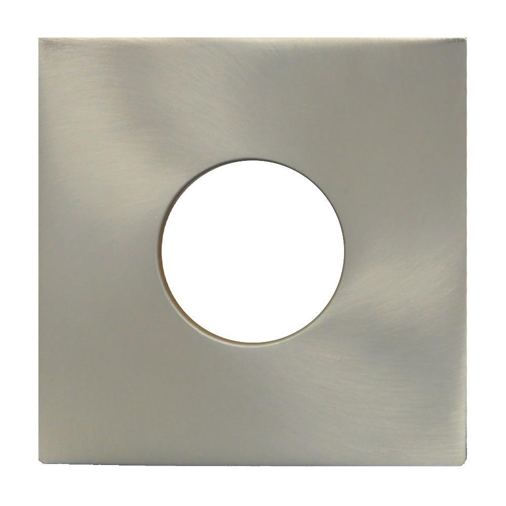 Finition Plate Standard 4″ Nickel Brossé 65439