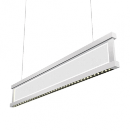 PENDANT LED 50W 35K 120-277V, 0-10VDIM 5500LM,LV4-DM-XXU