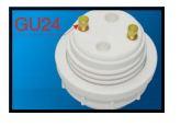 Adapteur GU24 à Culot Médium E26SC-6025